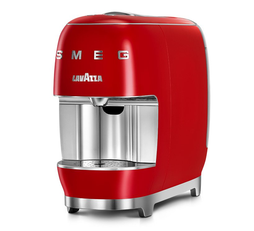 lavazza 'a modo mio' SMEG, where 'beautiful espresso' design meets authentic italian experiences